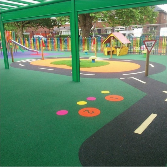 WetPour - Installation Image